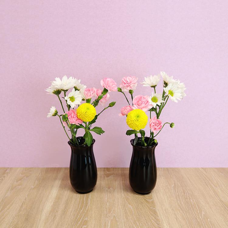 お供え花 Bコース(3種6本)